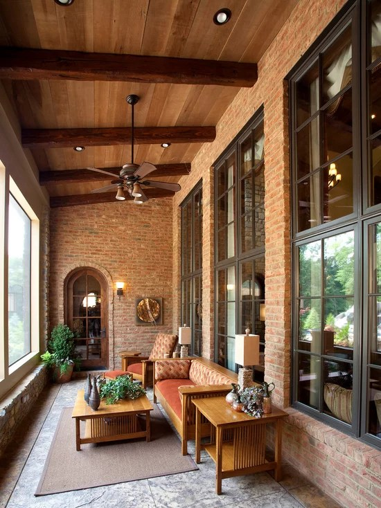Enclosed Patio | Houzz on Inclosed Patio Ideas  id=74064
