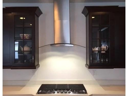install backsplash with range hood