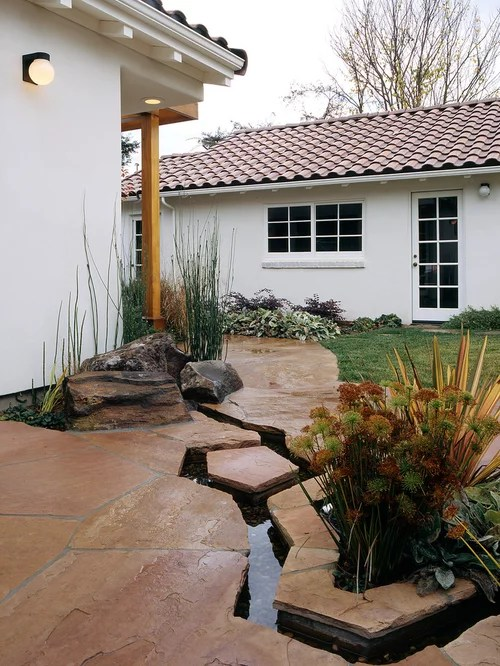 Stone Patio Ideas   Houzz on Houzz Backyard Patios  id=78131