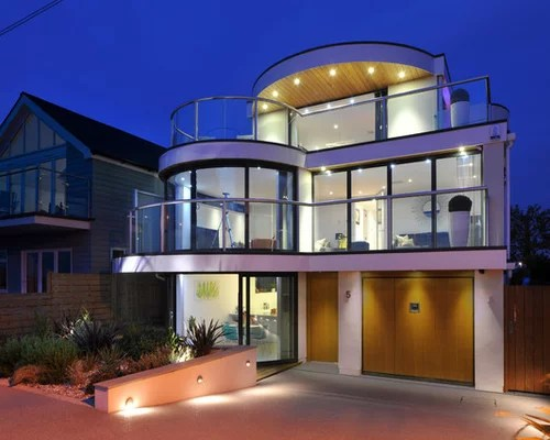 Modern House Exterior Home Design Ideas Pictures Remodel