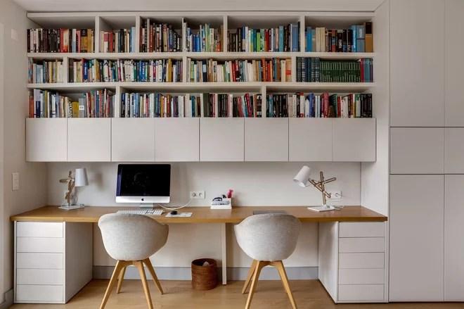 Scandinavian Home Office by Murs et Merveilles