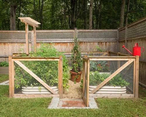 Best Farmhouse Landscape Design Ideas & Remodel Pictures ... on Farmhouse Backyard Landscaping id=29615