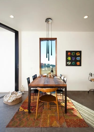 Moderno Sala da Pranzo by Imbue Design