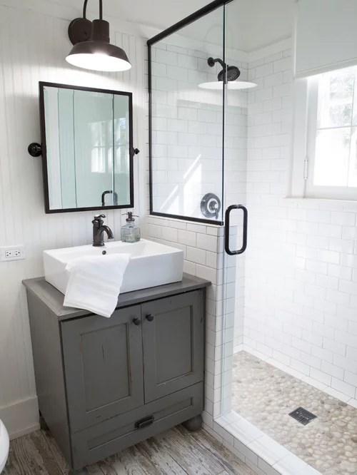 Farmhouse Bathroom Design Ideas, Remodels & Photos on Farmhouse Shower Ideas  id=25969