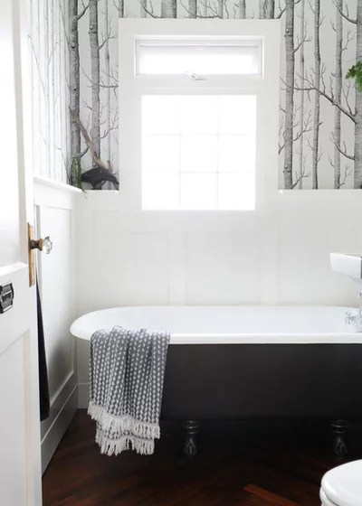 Transitional Bathroom by mango design co