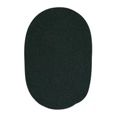 Colonial Mills Bristol WL09 Dark Green Traditional Area Rug Oval 10'x13'