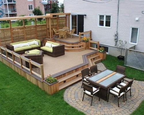 Deck Patio Ideas   Houzz on Houzz Backyard Patios  id=45496