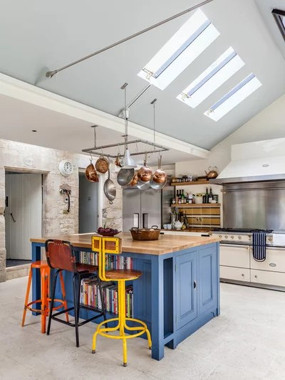 Eclectic Kitchen by Simon Maxwell Photography