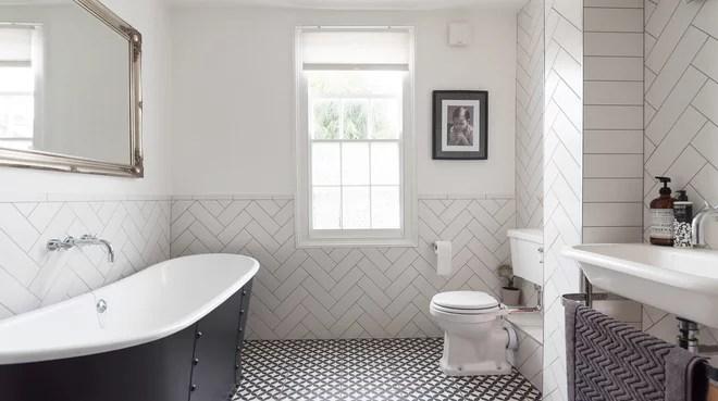 Transitional Bathroom by Kopal Jaitly Photography