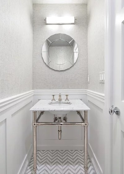 Transitional Bathroom by Clean Design