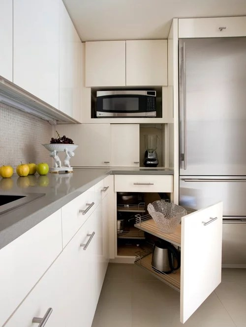 Contemporary Nook Corner Kitchen