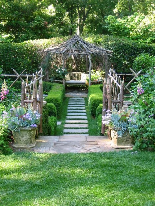 Whimsical Garden Home Design Ideas, Pictures, Remodel and ... on Whimsical Backyard Ideas id=91658