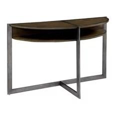 Furniture of America Matilda Console Table Dark Oak