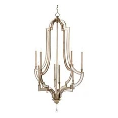John Richard Eight Light Reflections Chandelier Chandeliers