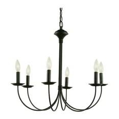 Trans Globe Colonial Candles 6 Light Chandelier Chandeliers