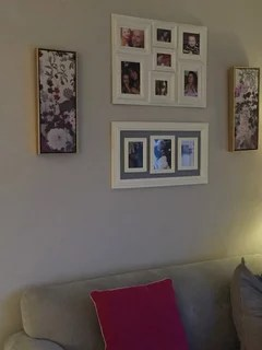 Would You Put A Feature Wall In This Grey Living Room Houzz Uk