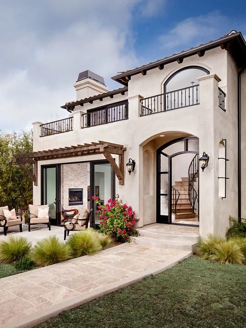 Stucco Exterior Home Design Ideas, Remodels & Photos on Modern House Painting Ideas  id=46529
