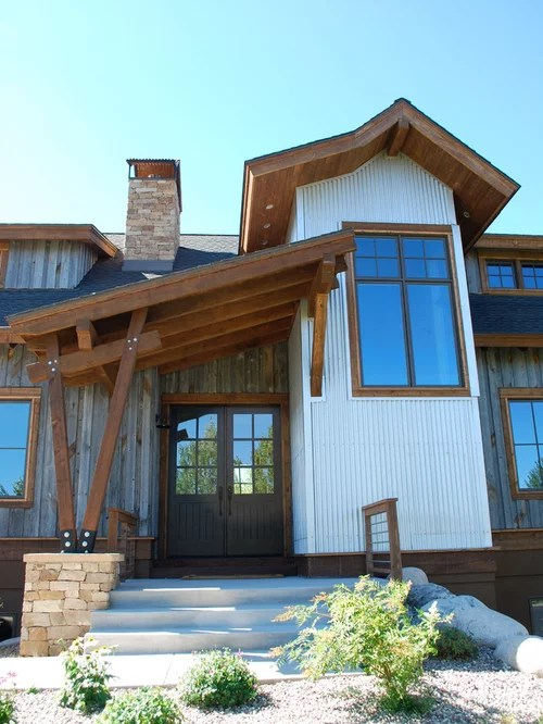 Rustic Wood Siding Ideas, Pictures, Remodel and Decor on Modern Siding Ideas  id=82931