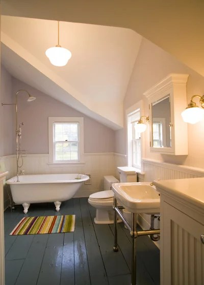 Victorian Bathroom by JAMES DIXON ARCHITECT PC