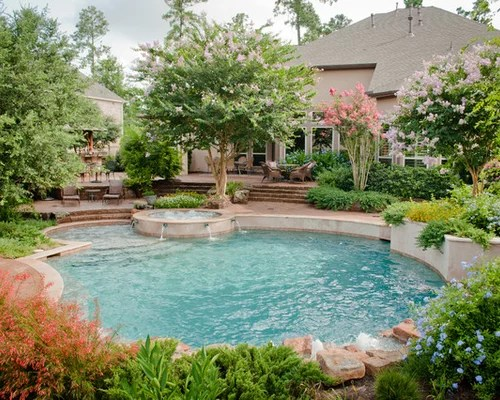 Backyard Pool Landscaping Ideas | Houzz on Backyard Pool Landscape Designs id=24981