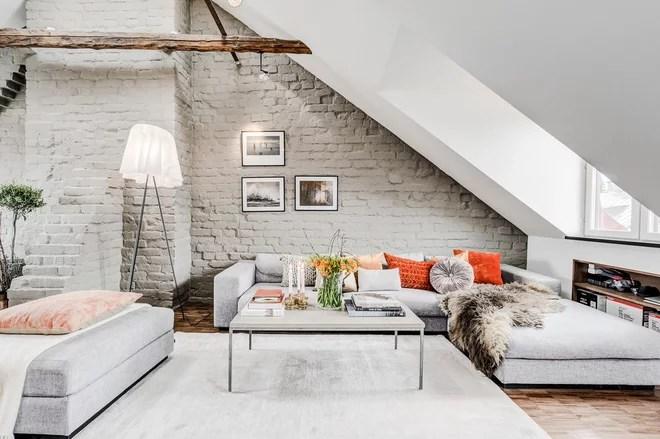 Scandinavian Living Room by CONCEPT SALTIN