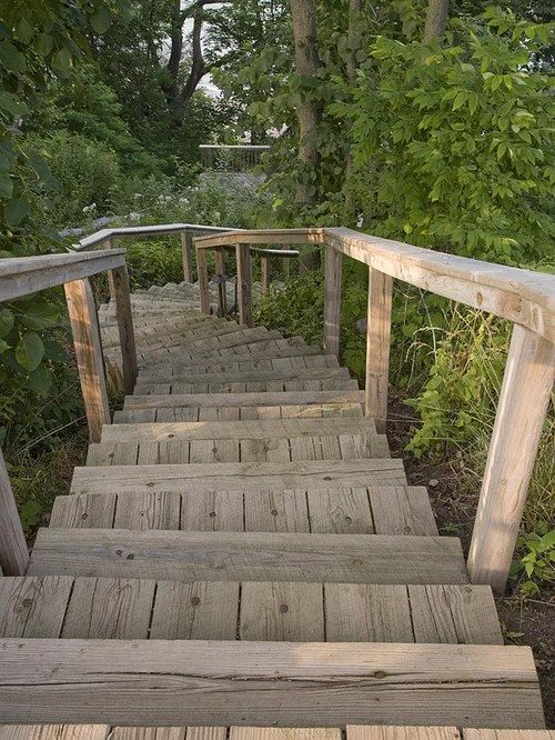 Old Stairs Home Design Ideas, Pictures, Remodel and Decor on Backyard Stairs Design id=75403
