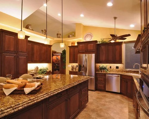 Shaped L Room Kitchen Dining