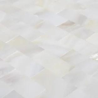 mother of pearl floor tile houzz