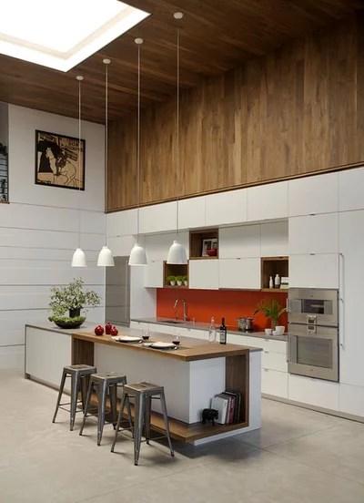 Contemporary Kitchen by ZeroEnergy Design