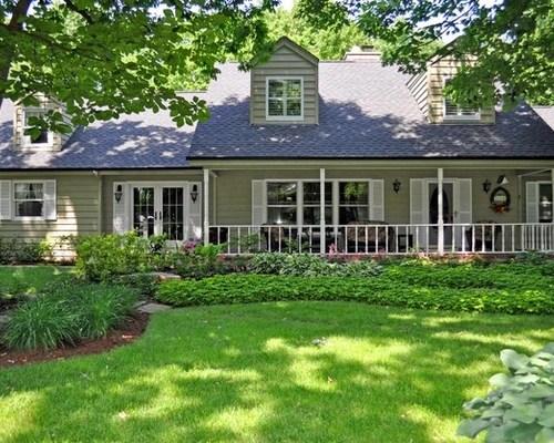 930 Farmhouse Front Yard Landscape Design Ideas & Remodel ... on Farmhouse Yard Ideas id=54185