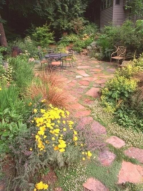 Grassless Front Yard | Houzz on Grassless Garden Ideas  id=55781