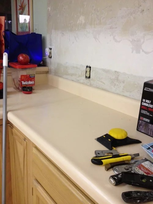 covering lamninate countertop kitchen