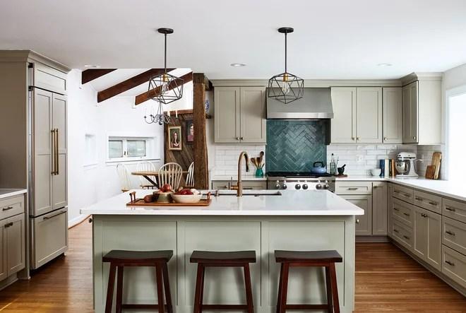 Farmhouse Kitchen by April Case Underwood