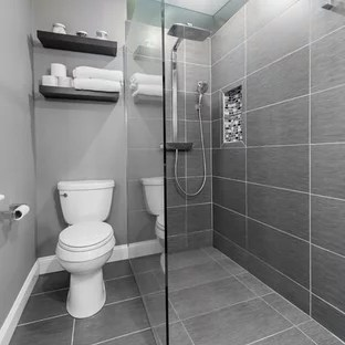 75 Beautiful Small Modern Bathroom Pictures & Ideas - July ... on Modern Small Bathroom Remodel  id=58974