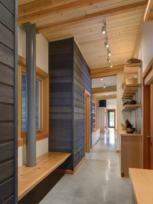 Stained Wood Tongue And Groove Ceiling Houzz