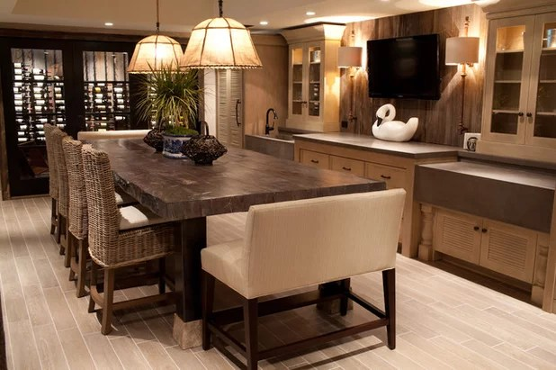 Bench Bar Stools Take A Stand In The Kitchen