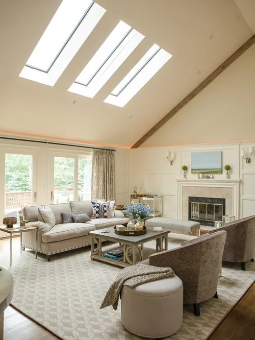 Cathedral Ceiling Skylight Houzz