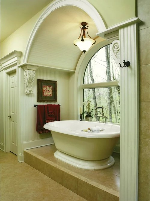 Arch Over Tub Home Design Ideas Pictures Remodel And Decor