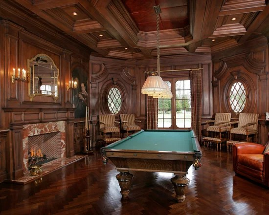 Image Of Billiard Room Decorations