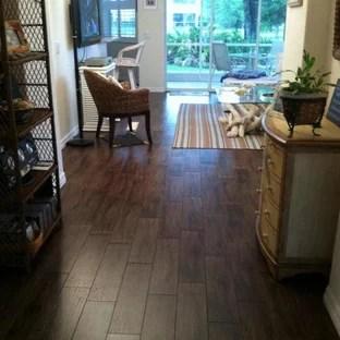dark wood tile floor houzz