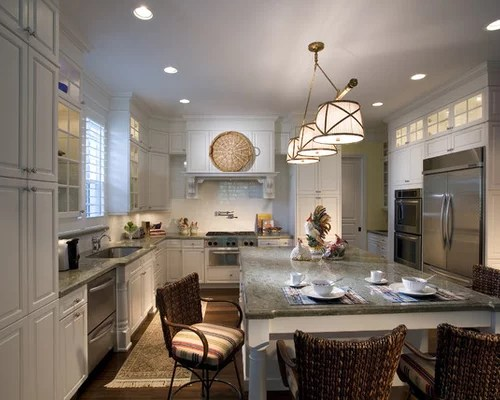 Small Kitchen Shaped Design U