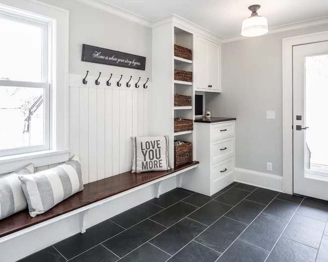 Heated entryway floors. Sure, heated floors are popular in bathrooms, but if you live in a cold region, consider putting them in your entryway to help melt snow and dry boots.