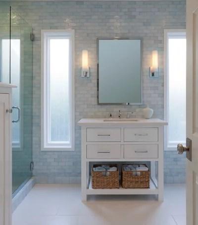 Traditional Bathroom by Lauren Jacobsen Interior Design