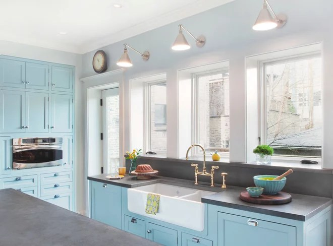 Traditional Kitchen by Randall Architects