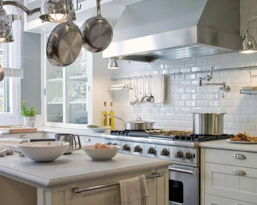 Adex Hampton White Subway Tile Kitchen Backsplash