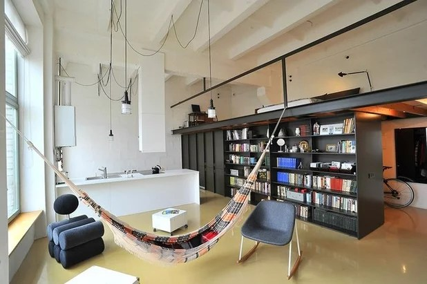 Houzz tour  Appartement avec un hamac et d un chauffe eau     dans le     Currently Featured in  FR