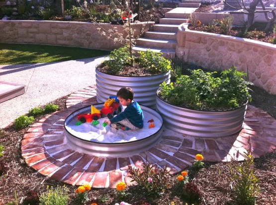 Фьюжн Сад by sustainable garden design perth