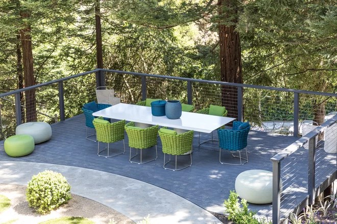 Contemporary Deck by Lauren Edith Andersen, Photographer