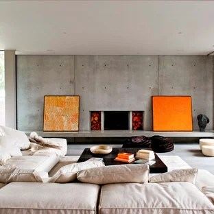 Living Room Feature Wall Houzz