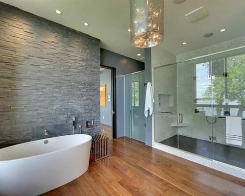 Best River Rock Shower Wall Design Ideas Amp Remodel